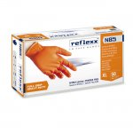 REFLEXX N85 GUANTI NITRILE ORANGE FULL GRIP MIS. M PZ. 50