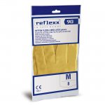 REFLEXX90 GUANTI IN PURO LATTICE FELPATI - M -