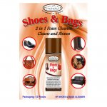 SHOES&BAGS SCHIUMA SPRAY LUCIDANTE PER PELLE, ECOPELLE, TESSUTI, ECC.. ML. 200